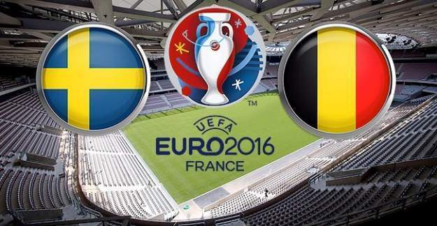 EURO 2016 İsveç Belçika maçı saat, kaçta hangi kanalda?