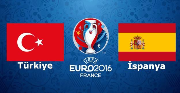 EURO 2016 Türkiye İspanya maçı saat kaçta, hangi kanalda? İspanya Türkiye muhtemel ilk 11'ler