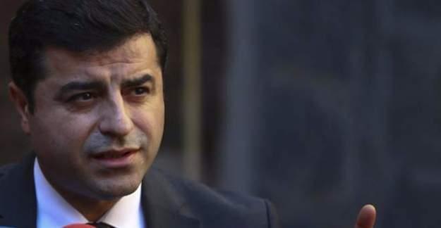 HDP Eş Genel Başkanı Demirtaş, savcılıktan çağrıldı