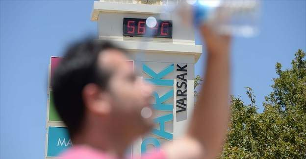 Dikkat! Sıcaklıklar doğal afet seviyesine geldi!