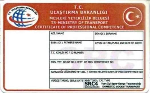 SRC giriş belgesi e devlet