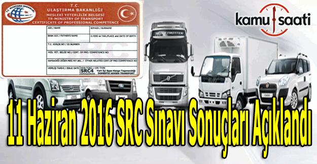 SRC sınav sonuçları açıklandı