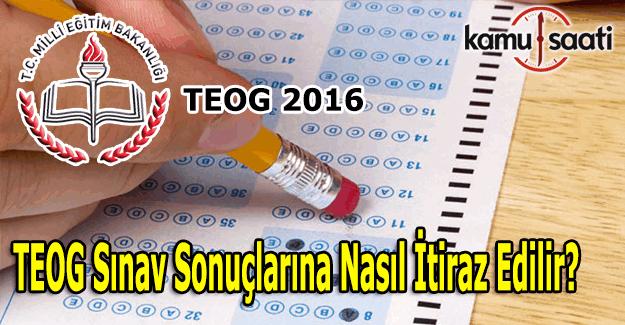 Teog Sonuçlarına nasıl itiraz edilir? 2016 Teog sınav sonucuna itiraz