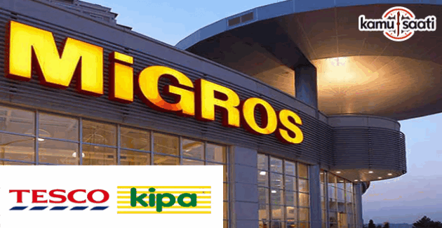 Tesco Kipa'nın yüzde 95,5'i Migros'a satıldı