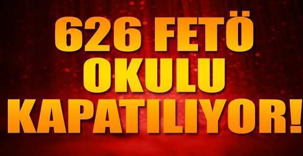 626 eğitim kurumu, 524 özel okul kapatılıyor!
