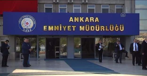 Ankara Emniyet Müdürlüğü'nde 900 polis açığa alındı!