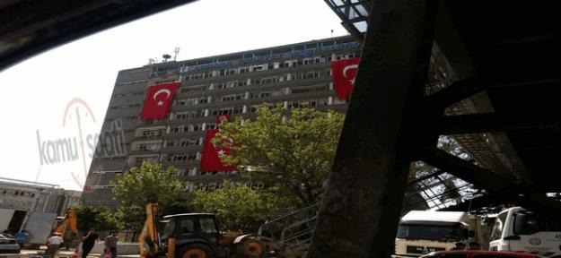 Ankara Emniyet Müdürlüğü'nün saldırı sonrası son hali