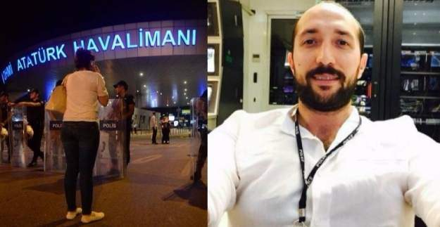 Atatürk Havalimanındaki kahraman polis uyandı