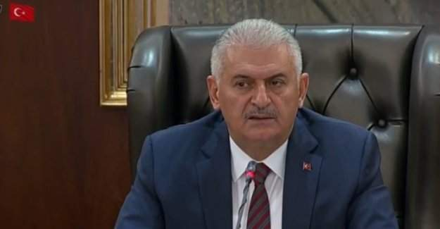 """Başbakan Binali Yıldırım:  """"Bu caniler ile askerimizi bir tutmayın"""""""