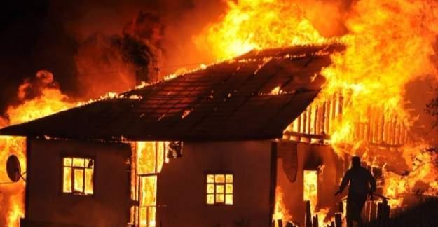 Diyarbakır'da Çermik ilçesinde yangın: 3 ölü