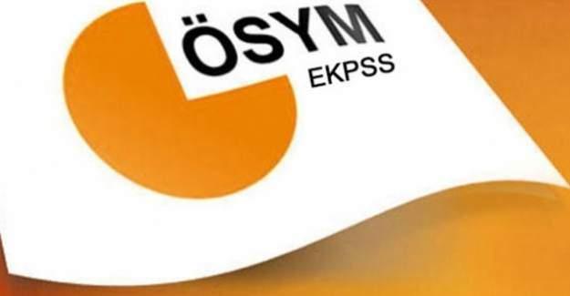 EKPSS tercihleri 29 Temmuz'a kadar uzatıldı