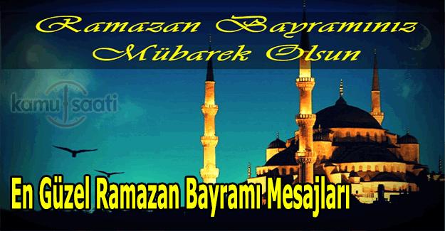 En Güzel, resimli, uzun kısa Ramazan Bayramı mesajları