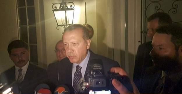 Erdoğan'ın kaldığı oteldeki polisleri garson kurtardı!