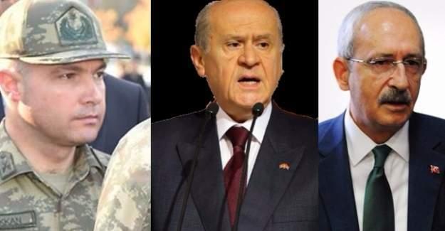 Genelkurmay Başkanı'nın yaveri Kılıçdaroğlu ve Bahçeli'yi aramış