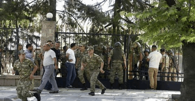 Genelkurmay'da teslim olan askerler konuştu