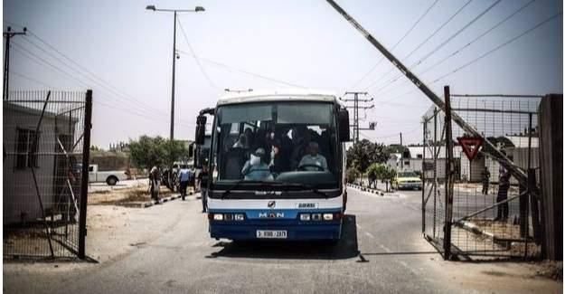 İsrail'den 9 yıl sonra bir ilk! Sınır kapısı açıldı