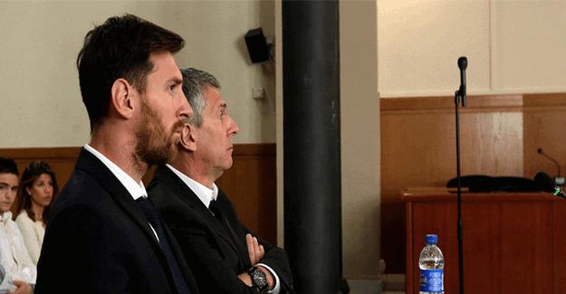 Lionel Messi ve babasına hapis cezası verildi