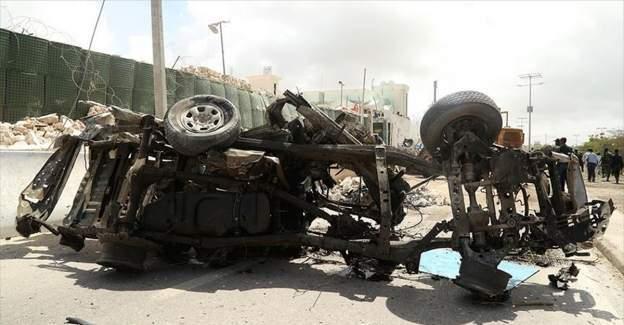 Somali'nin Mogadişu havalimanına bombalı saldırı