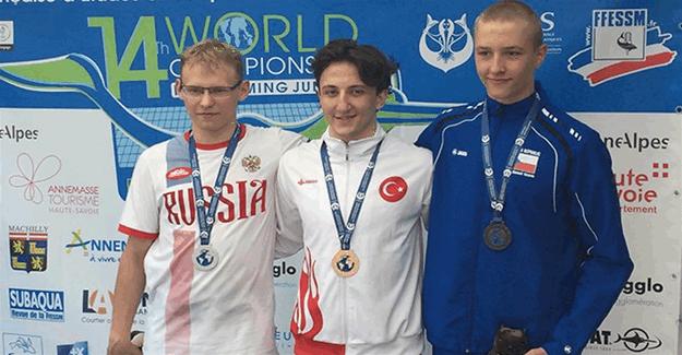 Ömer Faruk Saydam Gençler şampiyonasında altın madalya kazandı