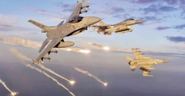 Şırnak'ta hava operasyonu; 7 hedef imha edildi
