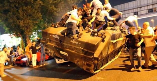 Tankla 5 kişiyi şehit eden askerlerden biri: Bu darbe değil