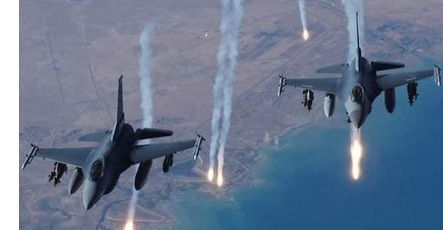 TSK, PKK mevzilerini vurdu; 12 terörist etkisiz hale getirildi