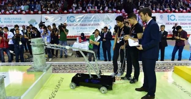 11 inci Uluslararası MEB Robot Yarışması!