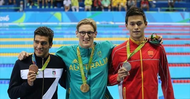 2016 Rio Olimpiyat Oyunları madalya sıralaması birinci gününde Avustralya ilk sırada