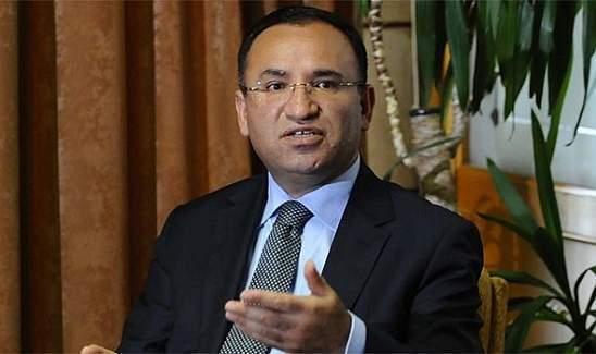 Adalet Bakanı Bozdağ'dan DAEŞ açıklaması!