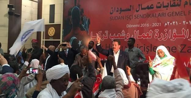 Eğitim Bir-SEN genel Başkanı Ali Yalçın Sudan'da konuştu - 15 Temmuz kanlı bir işgal girişimiydi