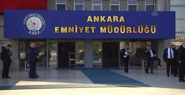 Ankara Emniyeti'nde 190 polis açığa alındı!