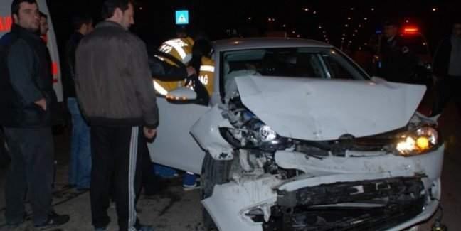 Ankara'da zincirleme trafik kazası! 10 yaralı