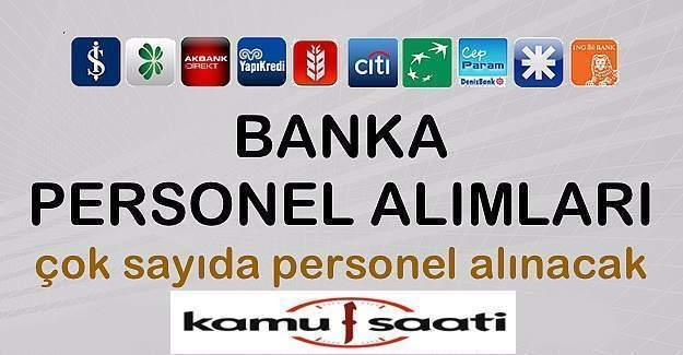 Bankalar 7 bin den fazla alım yapacak!