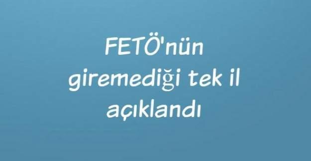 Başsavcı Şimşek, FETÖ'nün giremediği tek ili açıkladı