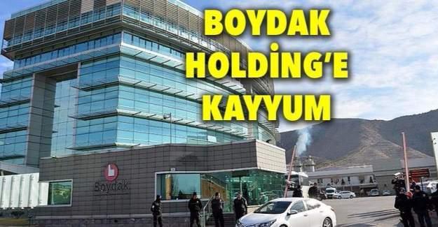 Boydak Holding yönetimine 5 kişilik  kayyum atandı