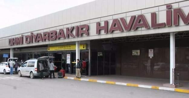 Diyarbakır Havaalanına roketatarlı saldırı!