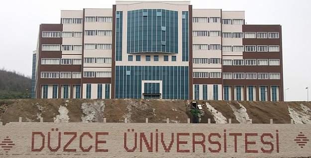 Düzce Üniversitesinde FETÖ soruşturmasında 6 kişi tutuklandı