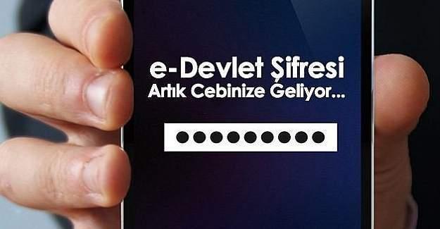 e-Devlet şifresi artık SMS ile de alınabilecek