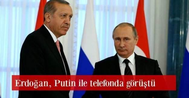Erdoğan ve Putin'in telefon görüşmesinden satır başları