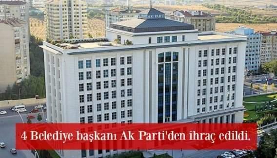 FETÖ bağlantılı belediye başkanları ihraç edildi