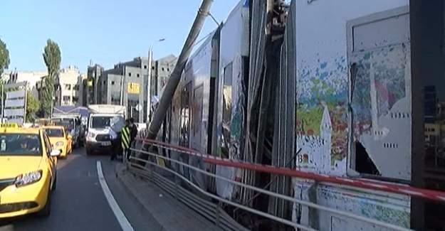 İstanbul'da korkutan kaza! Seferler durduruldu