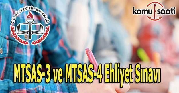 MTSAS-3 ve MTSAS-4 Soru ve cevapları burada - 27 Ağustos 2016 Ehliyet Sınavı