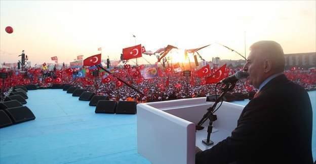 Başbakan Yıldırım: Feto Türkiye'ye gelecek, hesabını verecek