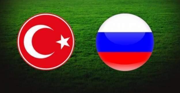 Rusya ile dostluğumuzu pekiştirdik: Türkiye - Rusya Maç sonucu berabere kaldı!