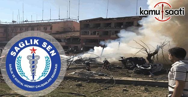 Sağlık Sen'den Elazığ'daki terör saldırısına kınama
