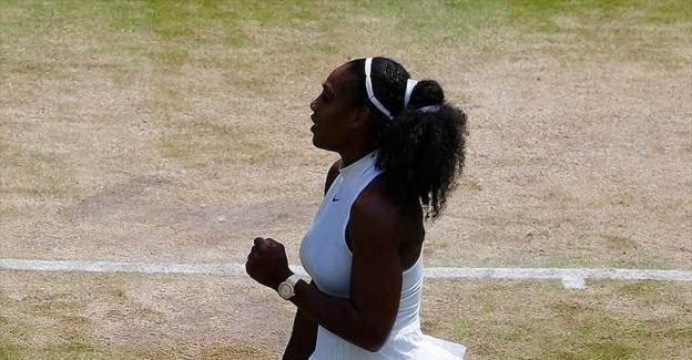 Serena Williams ikinci tura yükseldi