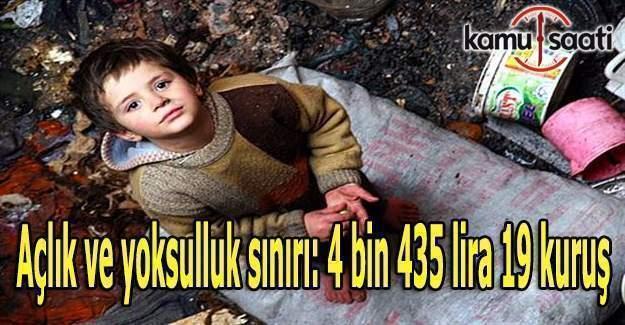 Türkiye'de yoksulluk sınırı kaç TL oldu?