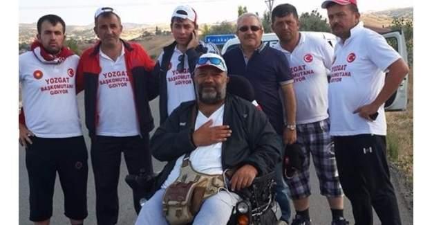Yozgat askerî birlik için Başkomutan'a yürüyor