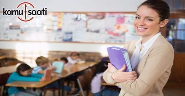 20 Bin sözleşmeli öğretmen Ekim'de görevde olacak