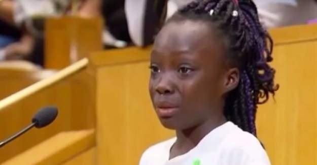ABD'ye damga vuran kızın 'siyahi' isyanı
